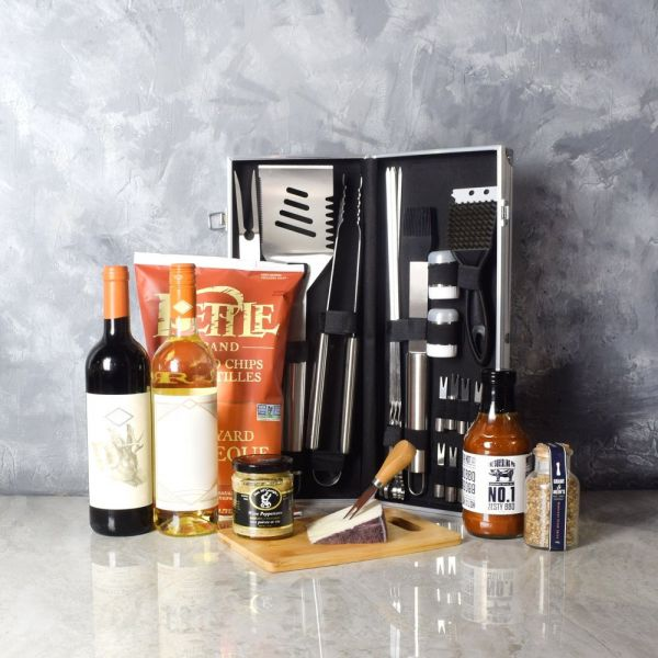 """Born To Grill"" Grilling Gift Set"