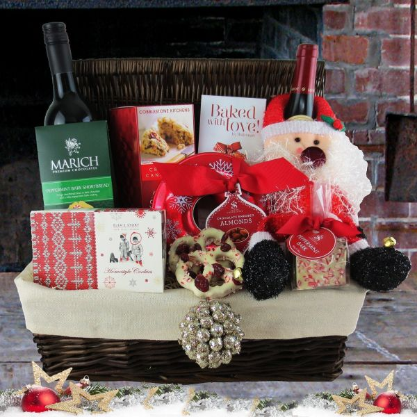 Christmas Cheer Picnic Basket