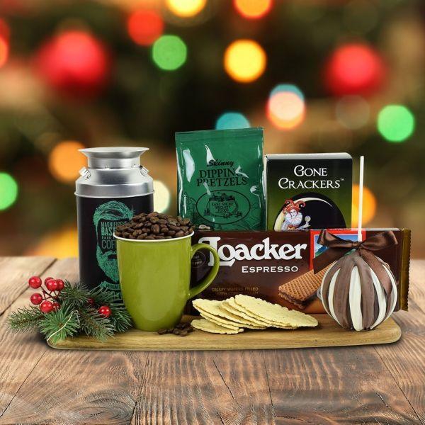 Santa's Warm Comforts Gift Basket