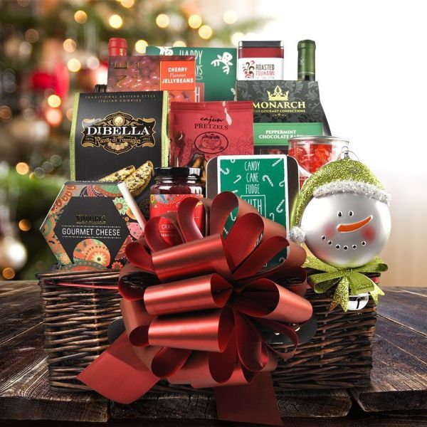 The Ample Wine Christmas Gift Basket