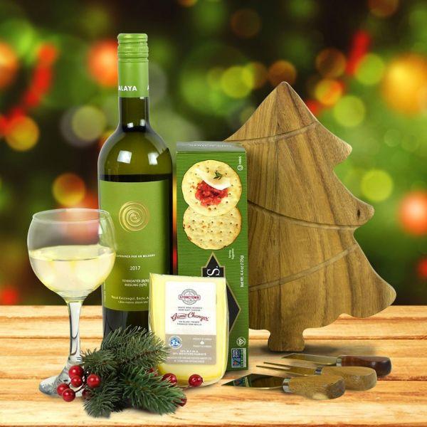Wine, Cheese & Crackers Gift Set