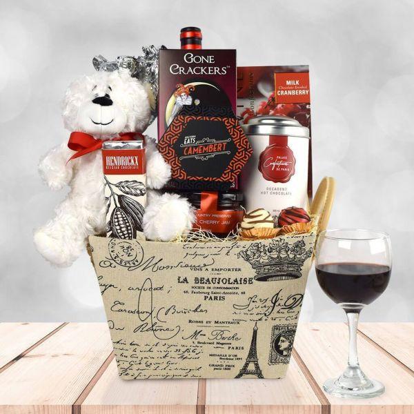 """With Love From Paris"" Gift Basket"