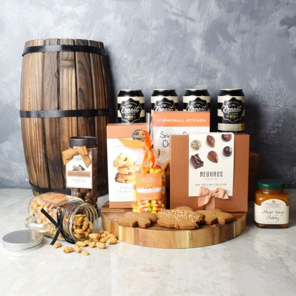 Thanksgiving Cider Celebration Basket