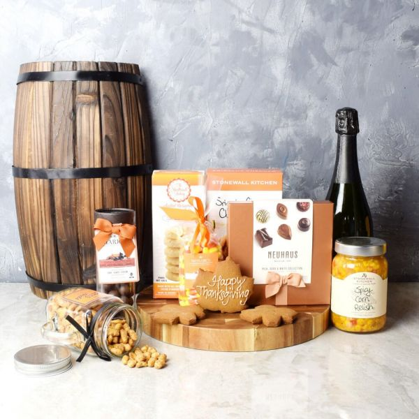 Thanksgiving Celebration & Treats Basket