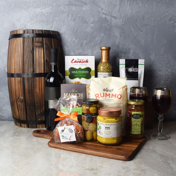 Kosher Wine Celebration Basket