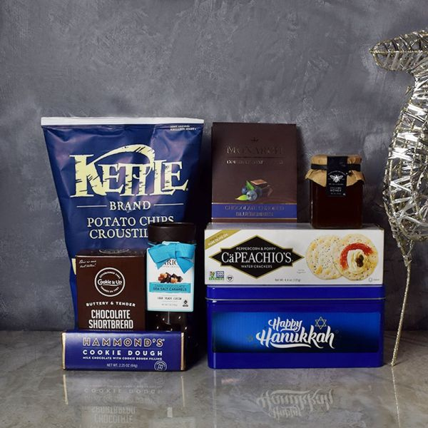 Hanukkah Kosher Treats Basket