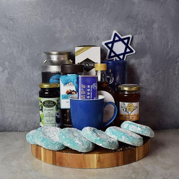 Kosher Treats & Coffee Hanukkah Basket