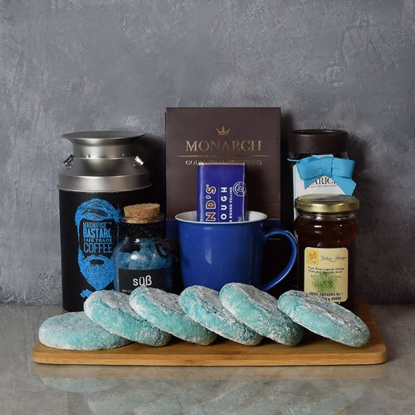 Kosher Coffee & Cookies Gift Basket