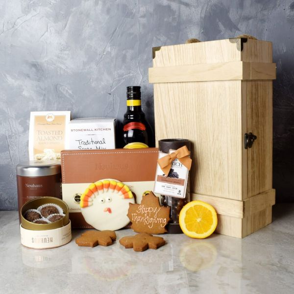 Thanksgiving Gourmet Treats & Chocolate Gift Set