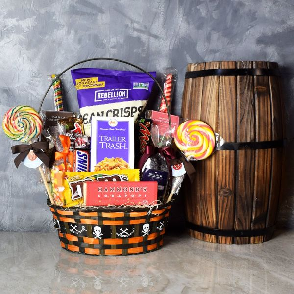 Halloween Tricks & Treats Gift Basket