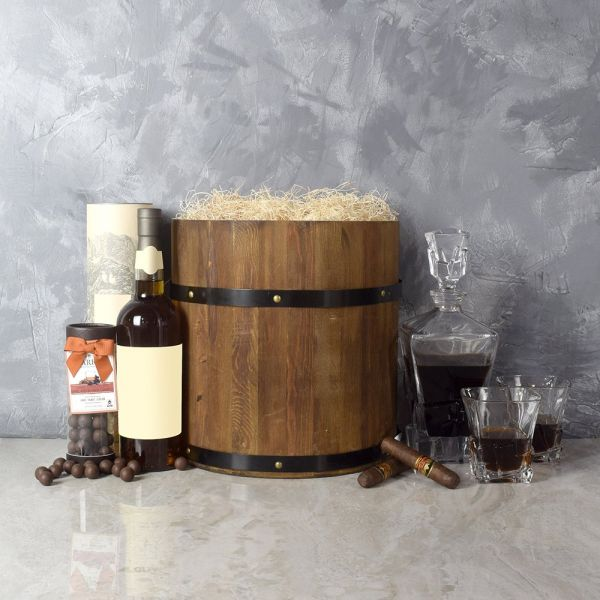 Whiskey Barrel Gift Set