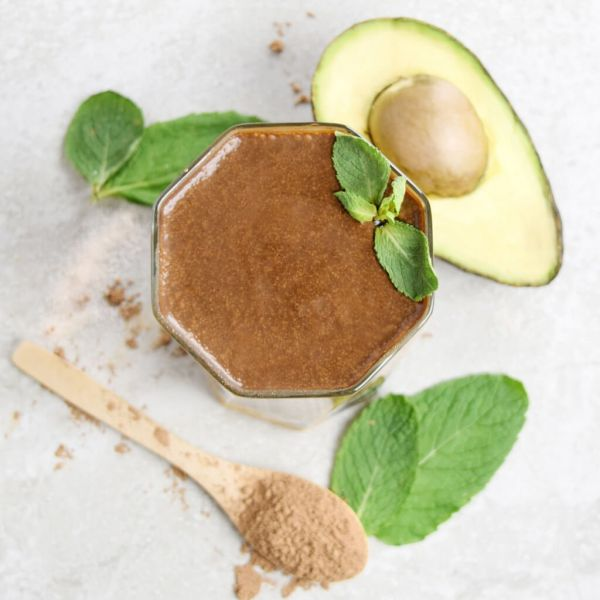 AVOCADO CHOCOLATE MINT SMOOTHIE