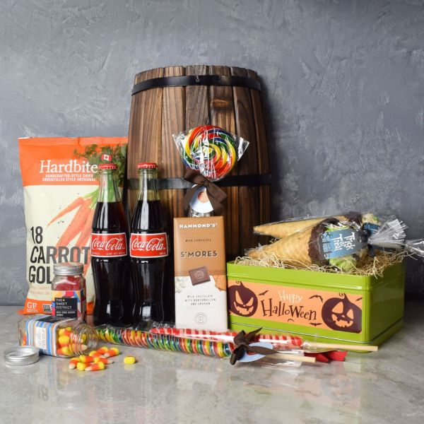 Gourmet Halloween Treats Basket