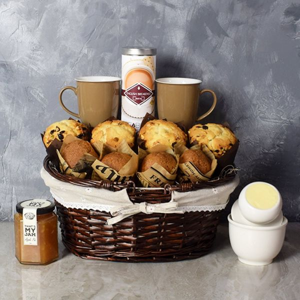 Morning Glory Muffin Platter Set