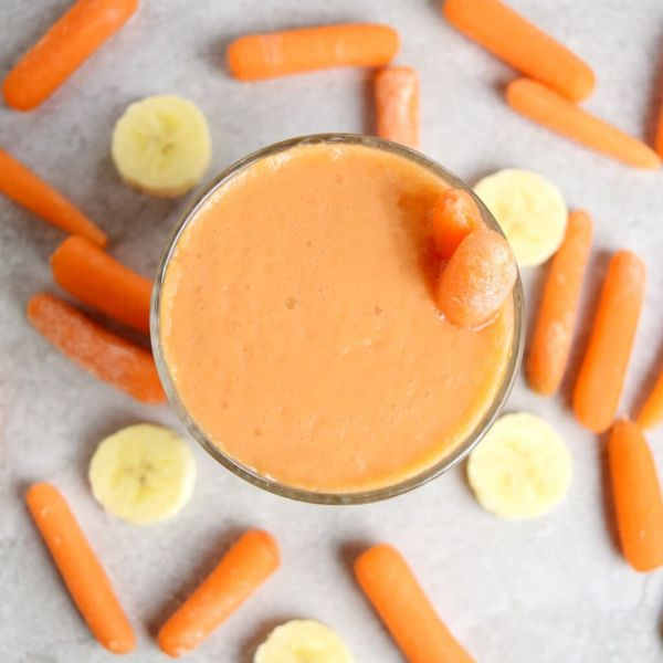 Carrot Orange Banana Smoothie
