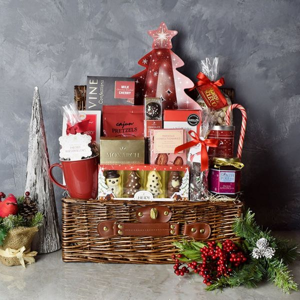 Have A Chocolatey Christmas Basket