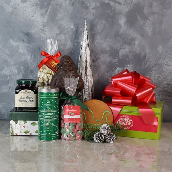 Sweet Christmas Treats Basket