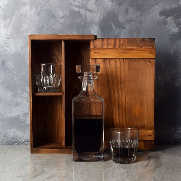 Rustic Decanter Gift Set