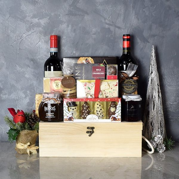 Vintage Wine Duo Gift Crate
