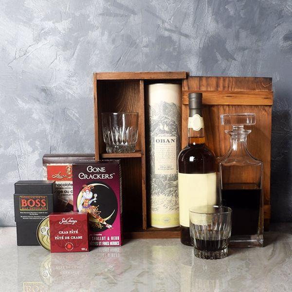 Executive Liquor & Decanter Basket