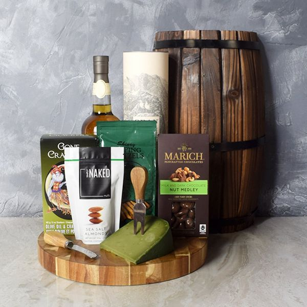 Snacks & Spirits Basket