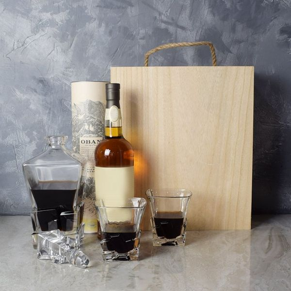 Liquor & Decanter Crate
