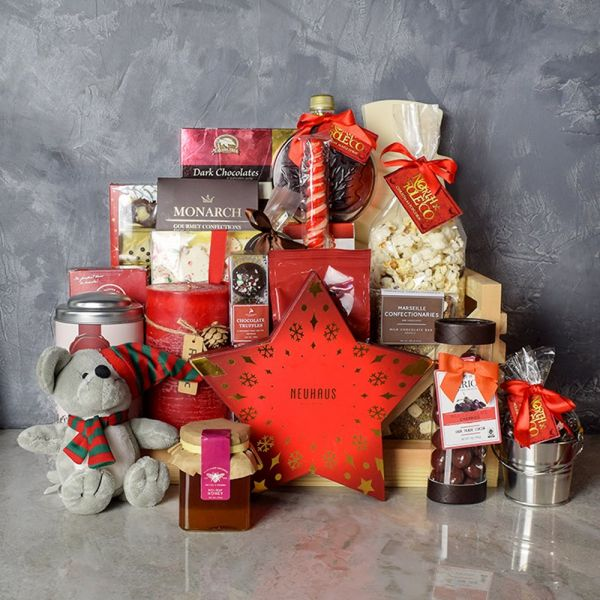 Holiday Sled Gift Basket