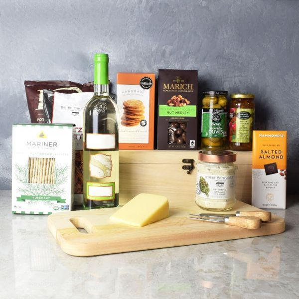 Kosher Wine & Cheese Crate