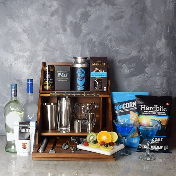 Executive Martini Bar Gift Set