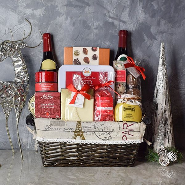 Christmas In Paris Gift Basket