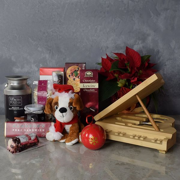 Yuletide Snacking Basket