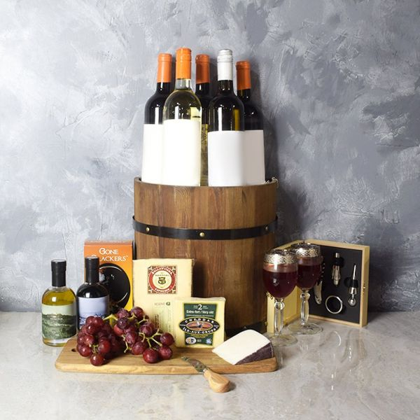 Ultimate Wine & Cheese Barrel