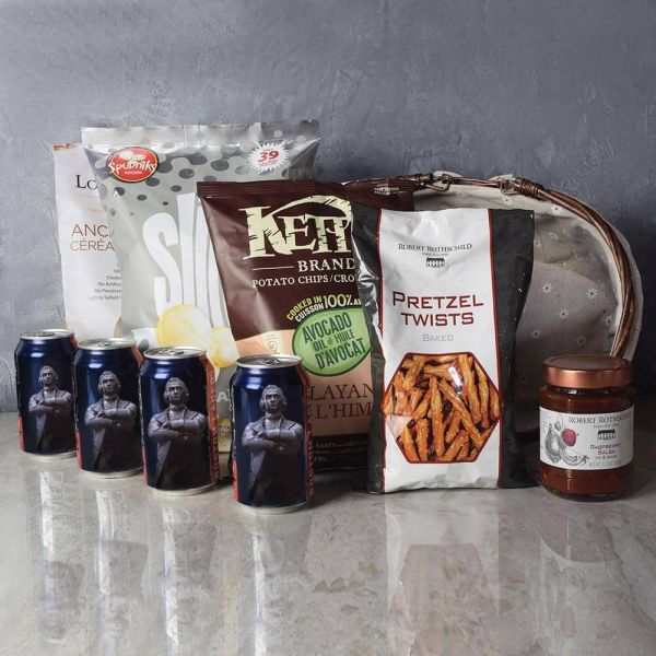 Kosher Beer & Snacks Basket