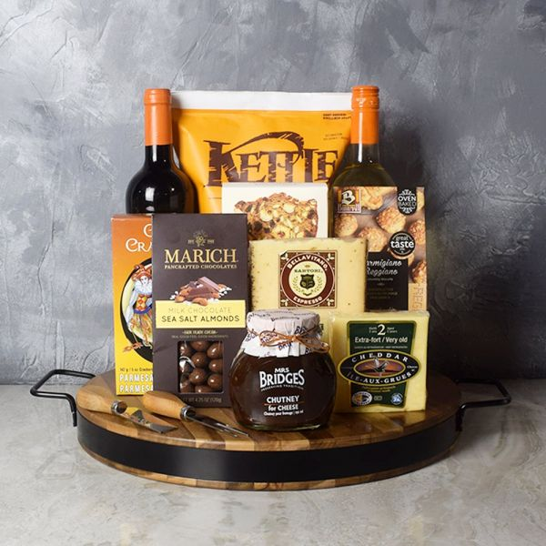 Wine & Cheese Platter Gift Set