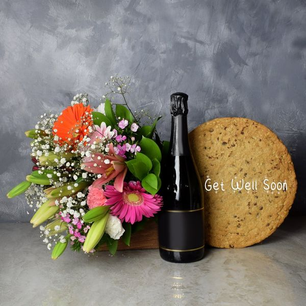 Get Well Soon Cookie Cake Gift Set