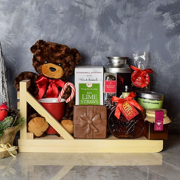 Christmas Coffee & Treats Basket