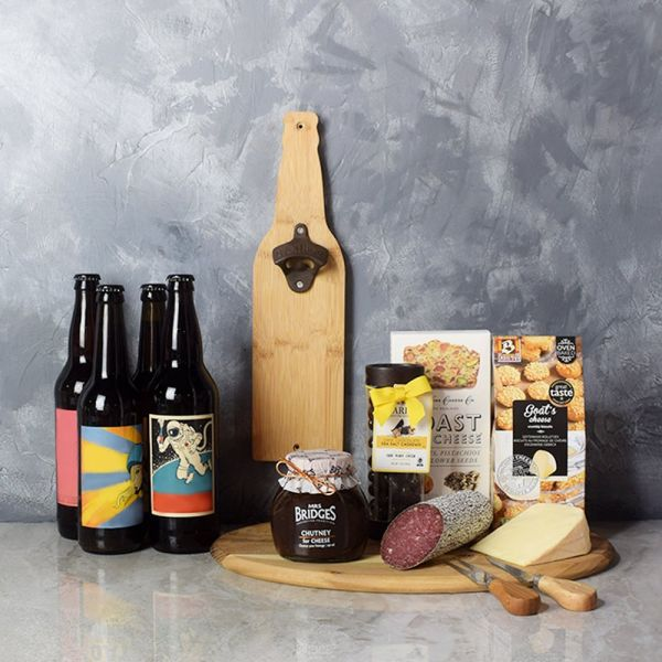 Beer & Cheese Lover's Basket