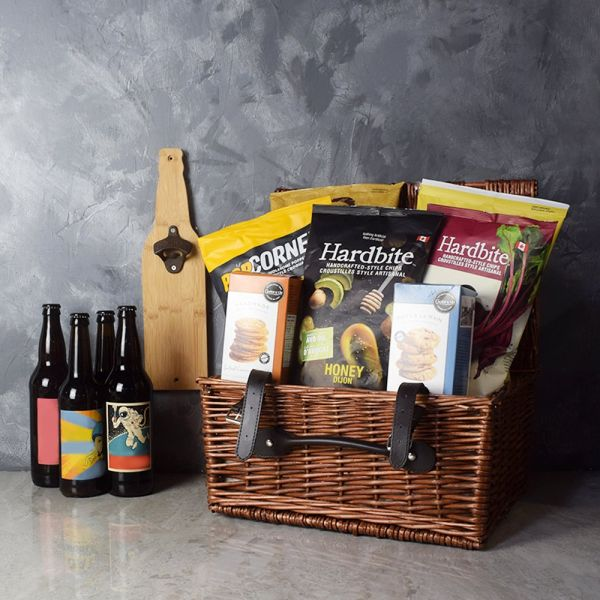 Game Day Craft Beer Basket