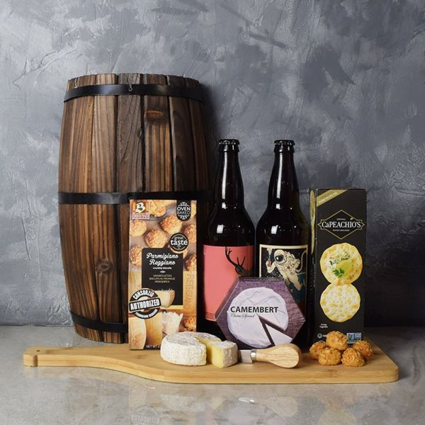 Cheesy Craft Beer Basket