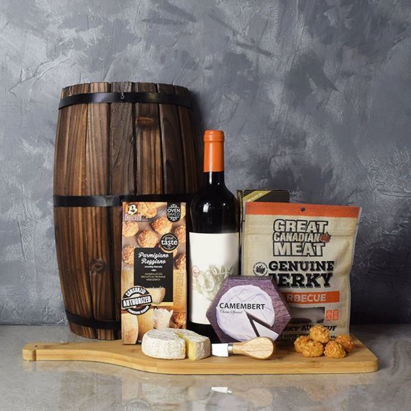 Wine & Cheesy Treats Platter