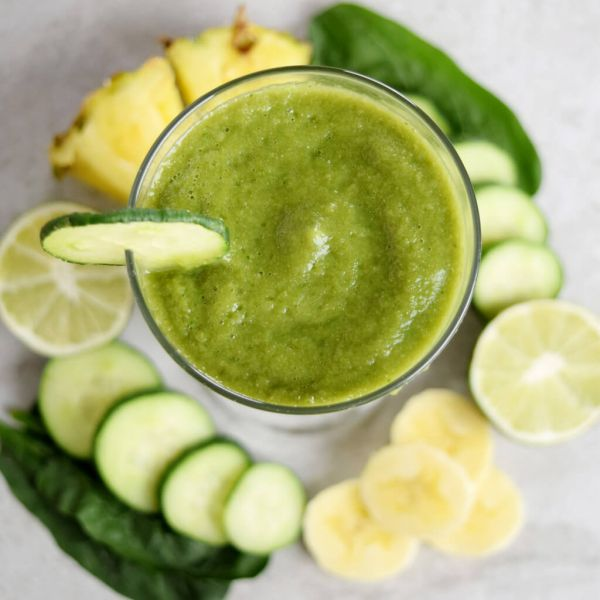 Pineapple Cucumber Smoothie