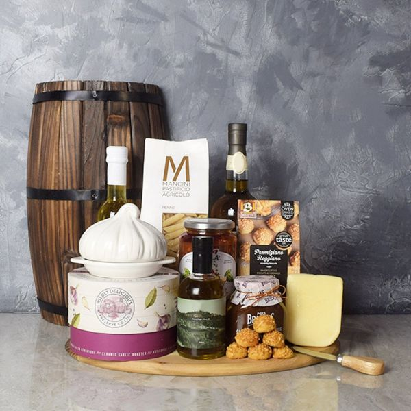 Little Italy Deluxe Liquor Basket