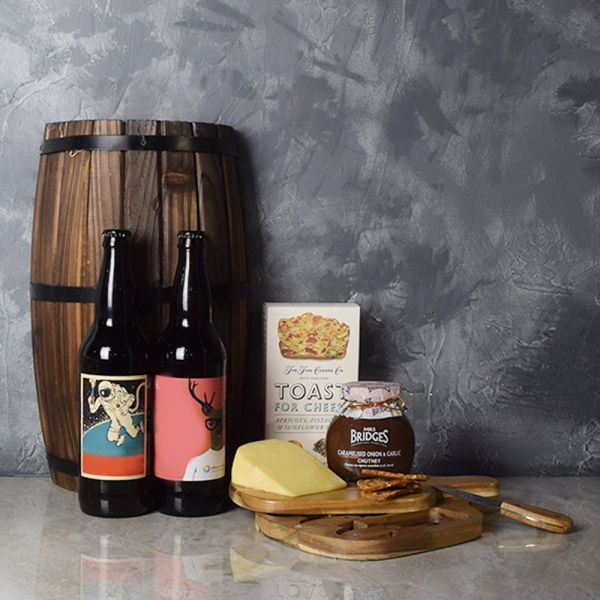 Spread a Smile Craft Beer Basket