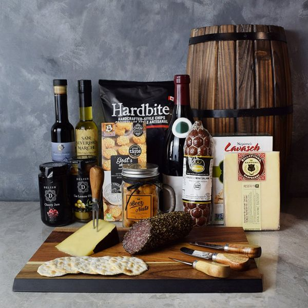 Authentic Delicatessen Gift Basket