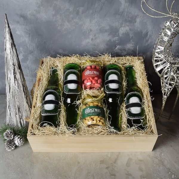 Beer & Nuts Crate