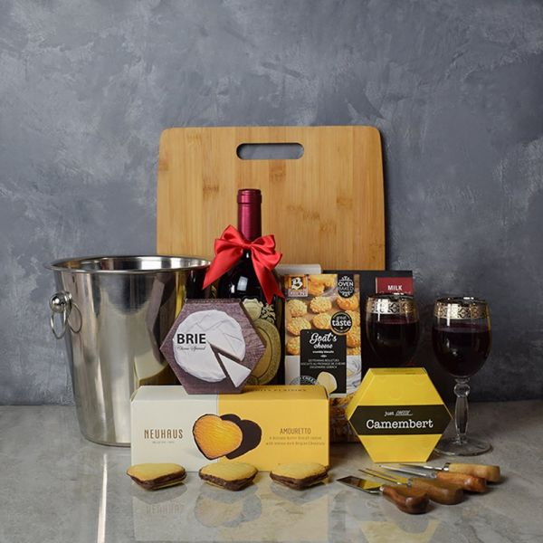 Marvelous Wine & Cheese Basket