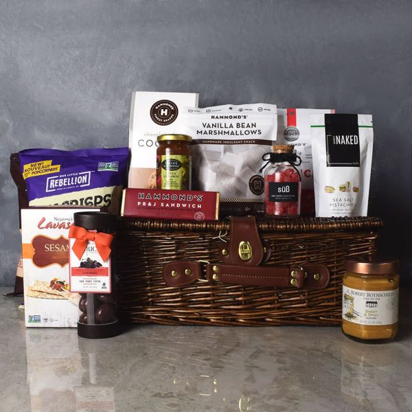 Sweet & Savoury Kosher Treats Basket