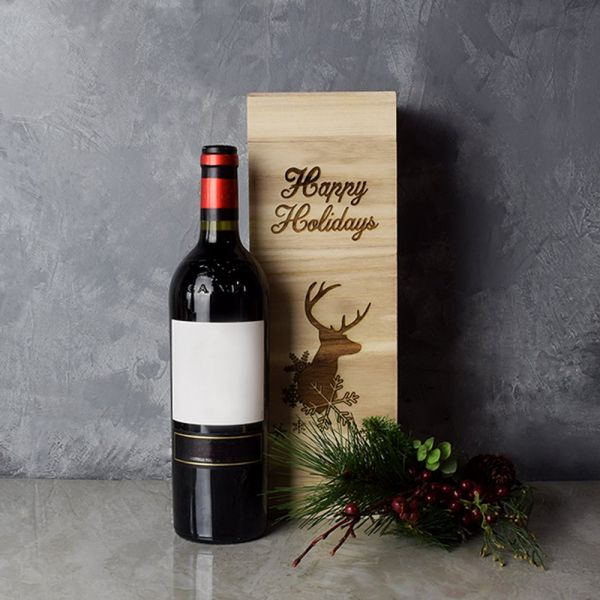 Christmas Wine Box