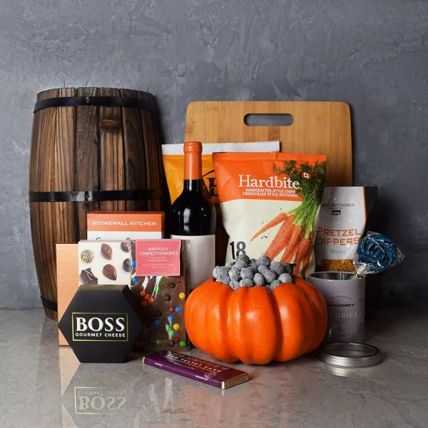 Happy Halloween Wine Basket
