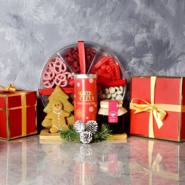 Tea & Sweets Holiday Basket
